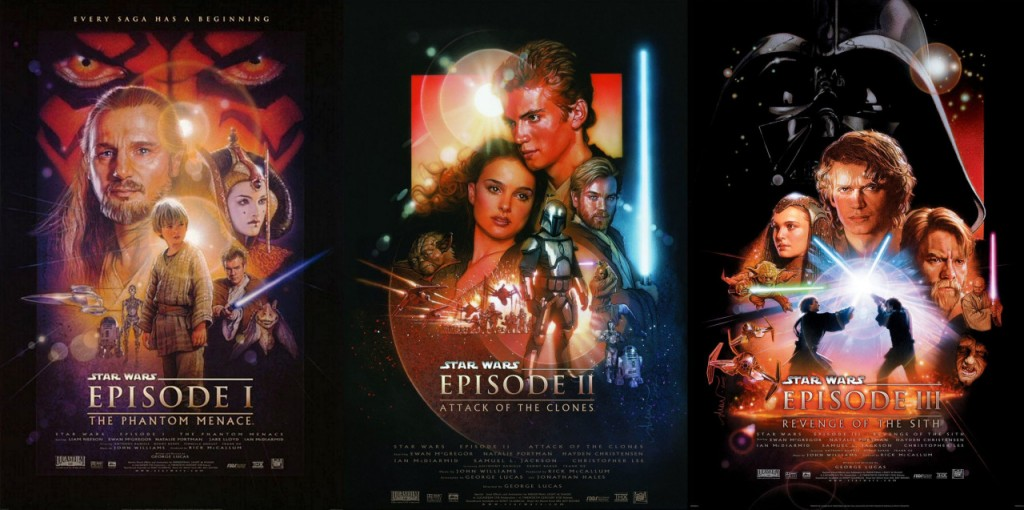 Star Wars Prequel Posters